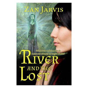 "Jacket art of ""River and the Lost"" by Zan Jarvis"