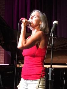 Multimedia artist Lisa Martinovic specializes in spoken-word performances.