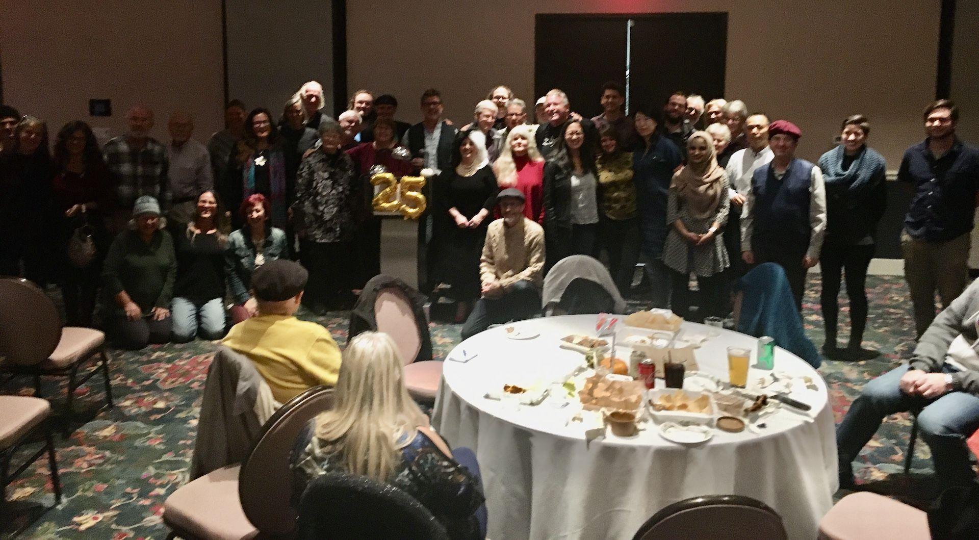 Group photo at OPWC's 25th Anniversary Extraganza